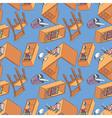 Furniture wallpaper vector