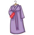 A lavender asian dress for sale vector