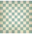 Grunge chessboard background vector