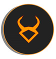 Taurus zodiac vector