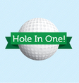 Hole in one vector