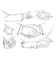 Handshake set vector