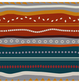 Tribal seamless texture with colored elements vector