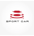 Sport car abstract design template vector