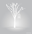 Background abstract tree vintage vector