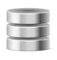 Database icon vector