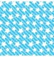 Seamless grunge star texture blue background vector