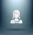 A female avatar avatar of a woman vector