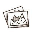 Image files symbol vector