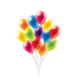 Balloons isolated vector