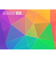 Colorful background color colorful rainbow vector