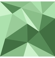 Green triangle background or flat pattern vector