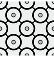 Seamless pattern rounds vector