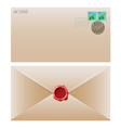 Envelope brown vector