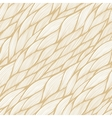 Seamless pattern with hand drawn abstract waves vector