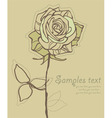 Ith vector stylized rose vector