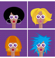 Diva faces vector
