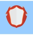 Vintage shield icon vector