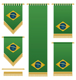 Brazil wall hangings vector