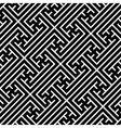 Seamless geometric swastika pattern vector