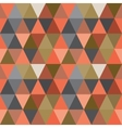 Pattern of geometric shapes triangle background vector