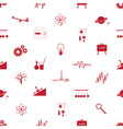 Physics icons seamless pattern eps10 vector