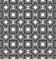 Seamless geometric pattern black and white simple vector
