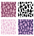 Seamless cosmetic pattern vector