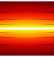 Abstract red orange and yellow rectangle paper vector