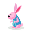 Icon rabbit vector