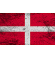 Flag of military order malta with old texture vector