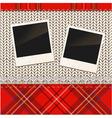 Vintage photo frames vector