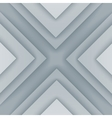 Abstract gray and white triangle shapes background vector