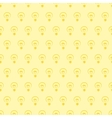 Seamless pattern or background with light bulb vector