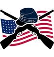 American civil war union vector