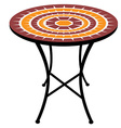 Round table vector