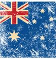 Australia retro flag vector