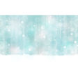 Winter bokeh background seamless vector