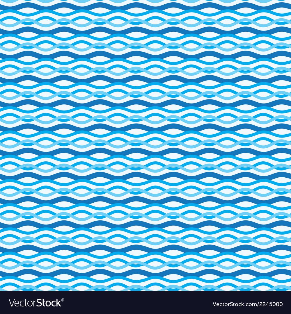 Abstract wavy sea background ocean waves texture vector   Price: 1 Credit (USD $1)