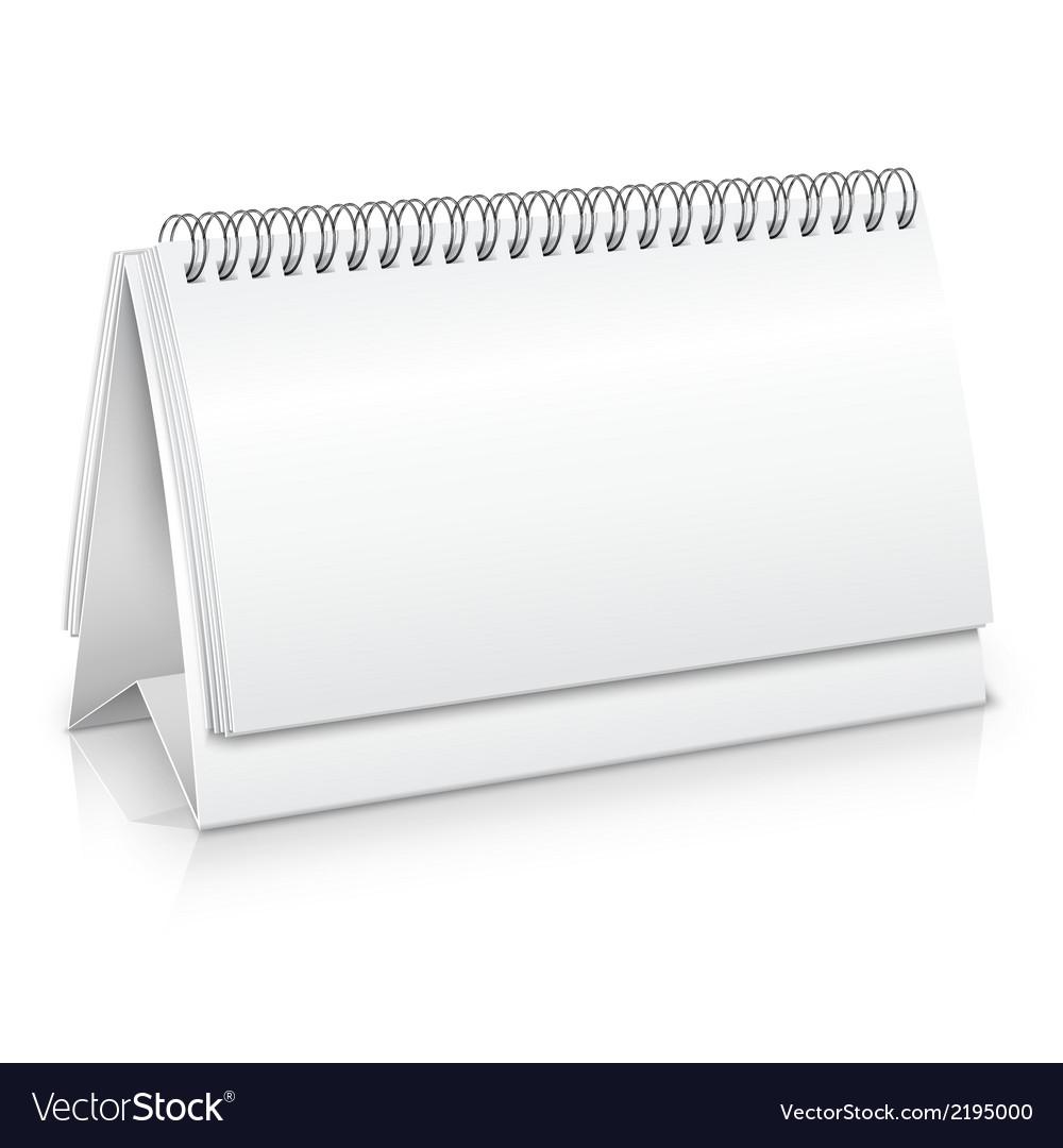 Desk calendar mockup vector | Price: 1 Credit (USD $1)