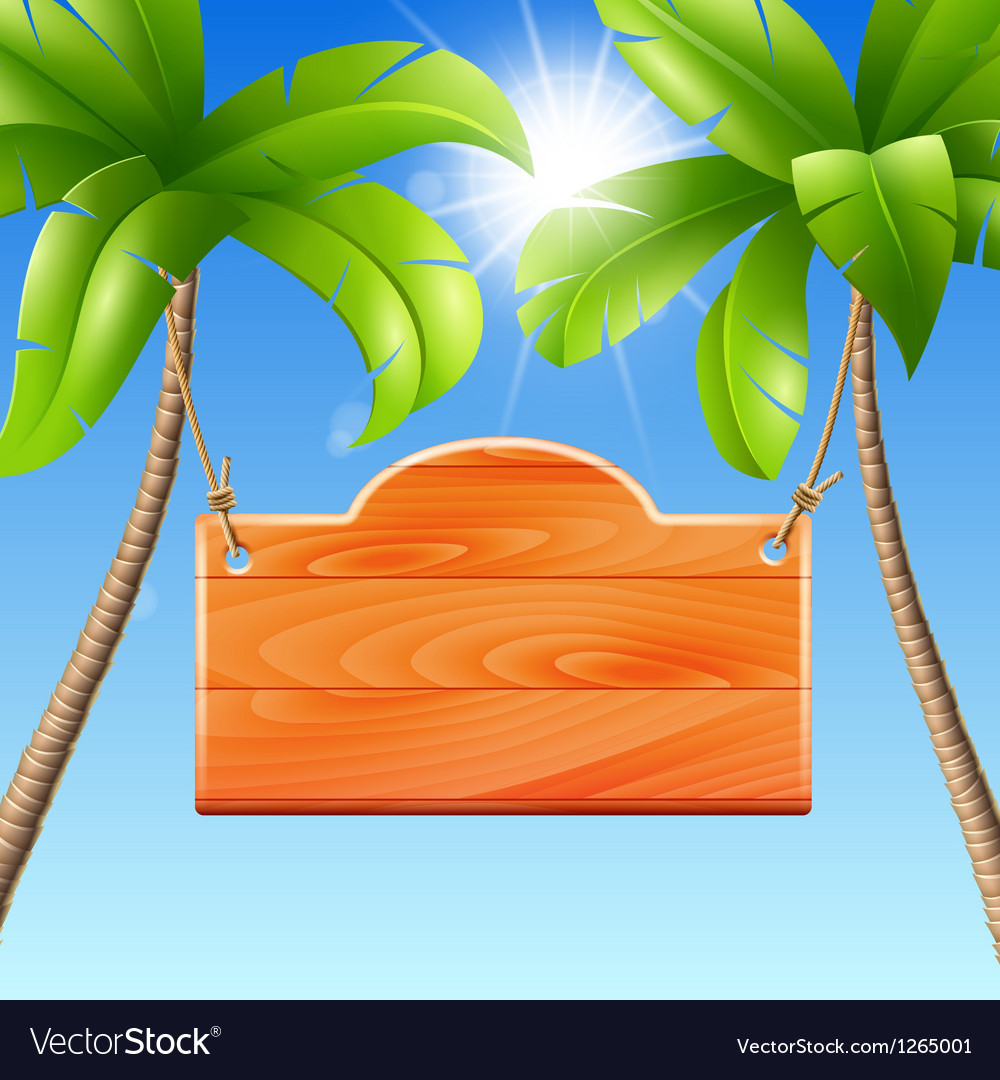 For a summer holiday by the sea vector | Price: 3 Credit (USD $3)