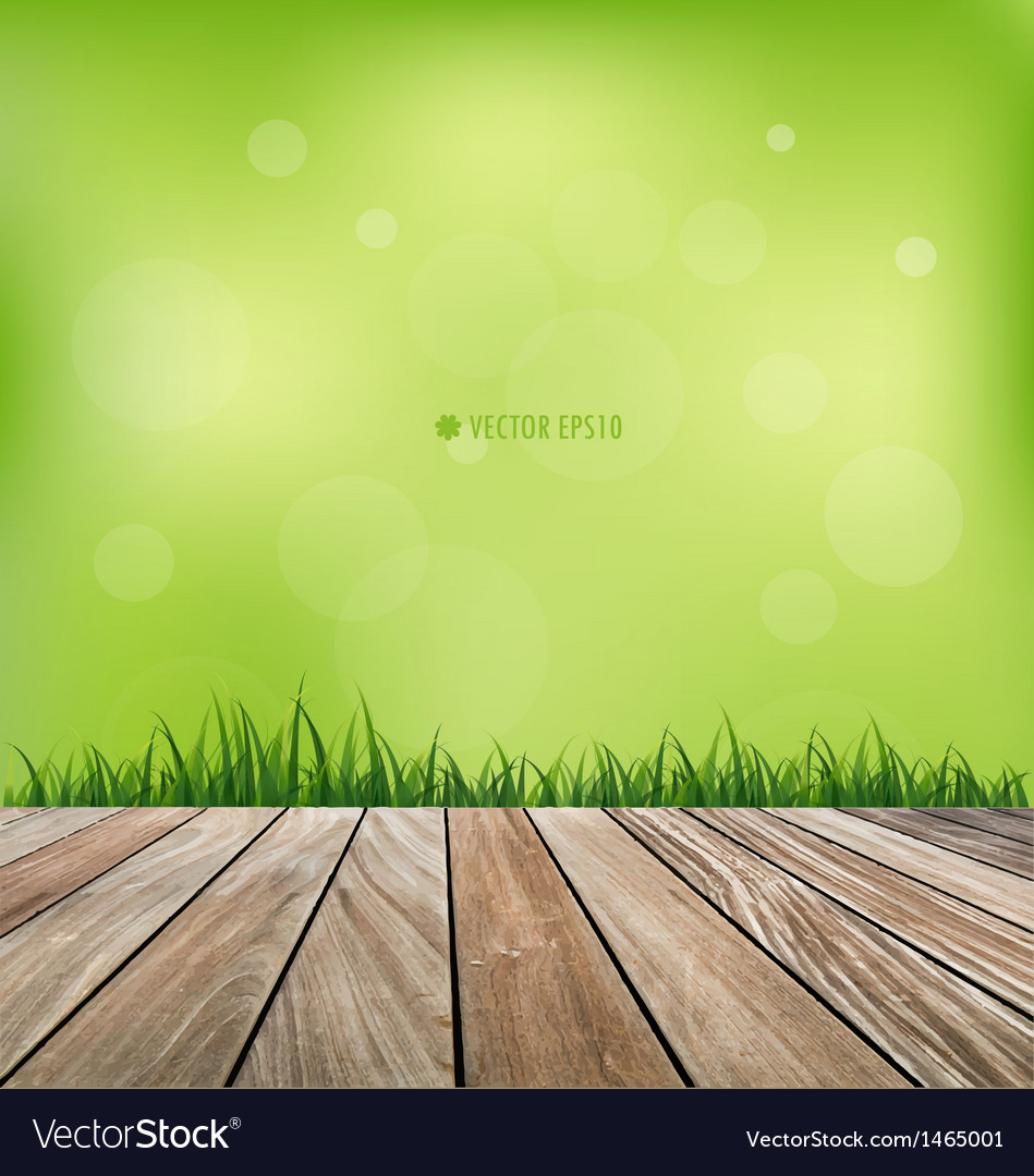 Fresh spring grass background vector | Price: 1 Credit (USD $1)