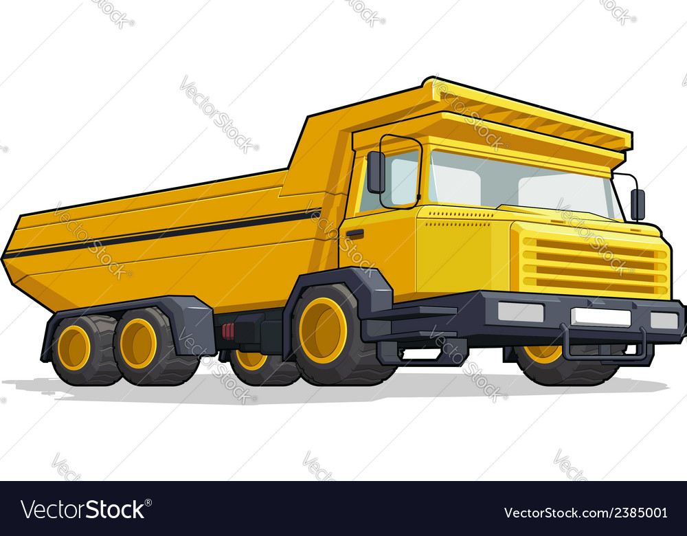 Haultruck vector | Price: 1 Credit (USD $1)