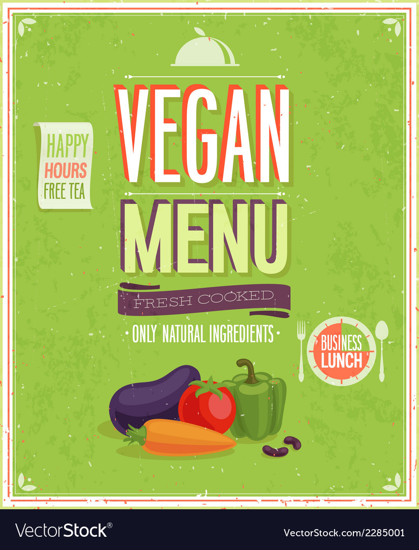 Vegetaruan2 vector | Price: 1 Credit (USD $1)