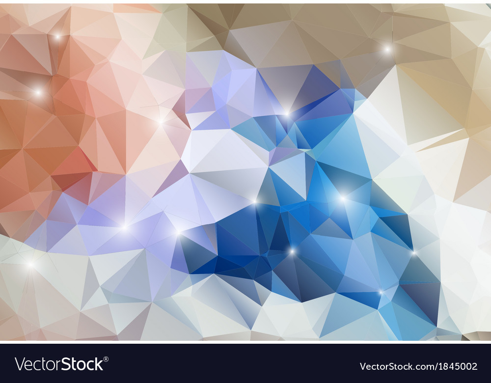 Colorful abstract background shiny polygon vector | Price: 1 Credit (USD $1)