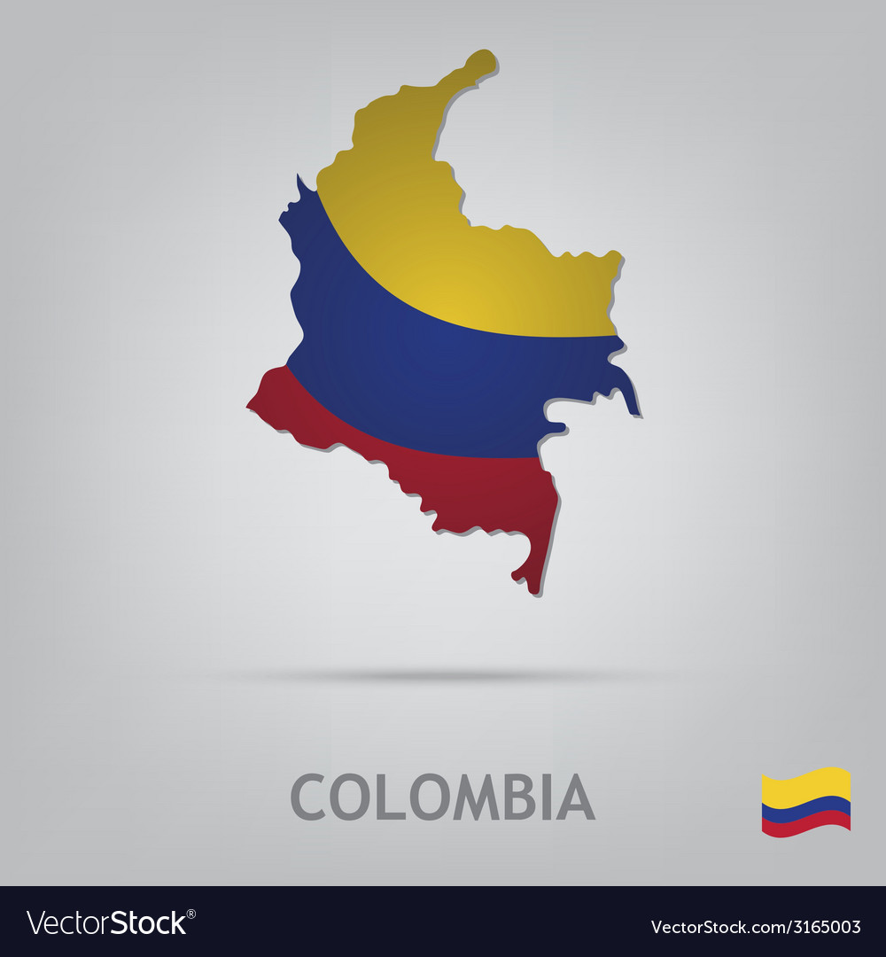 Colombia vector | Price: 1 Credit (USD $1)