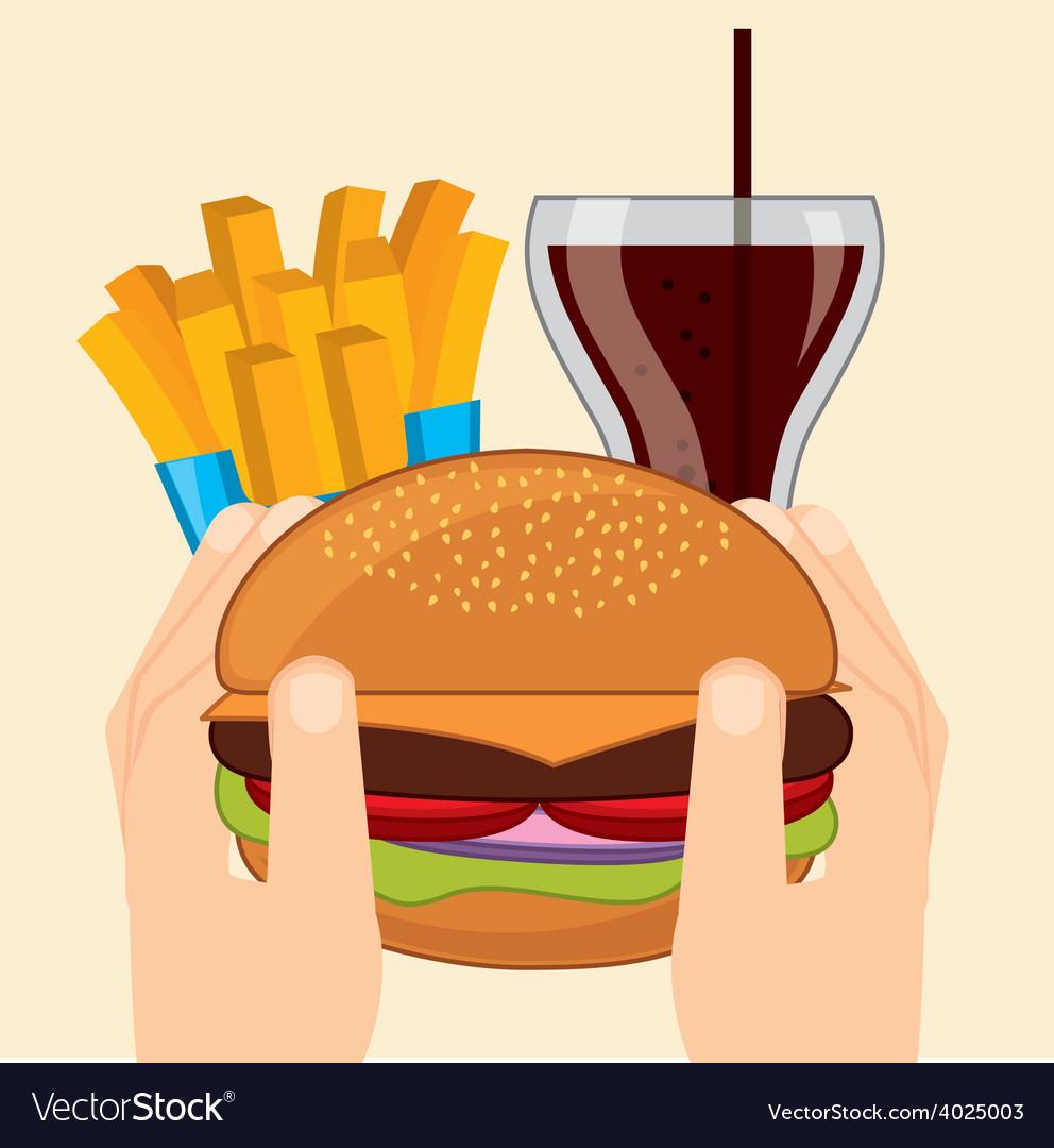 Delicious food vector | Price: 1 Credit (USD $1)