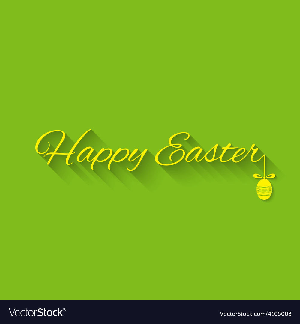 Happy easter typographical vector   Price: 1 Credit (USD $1)