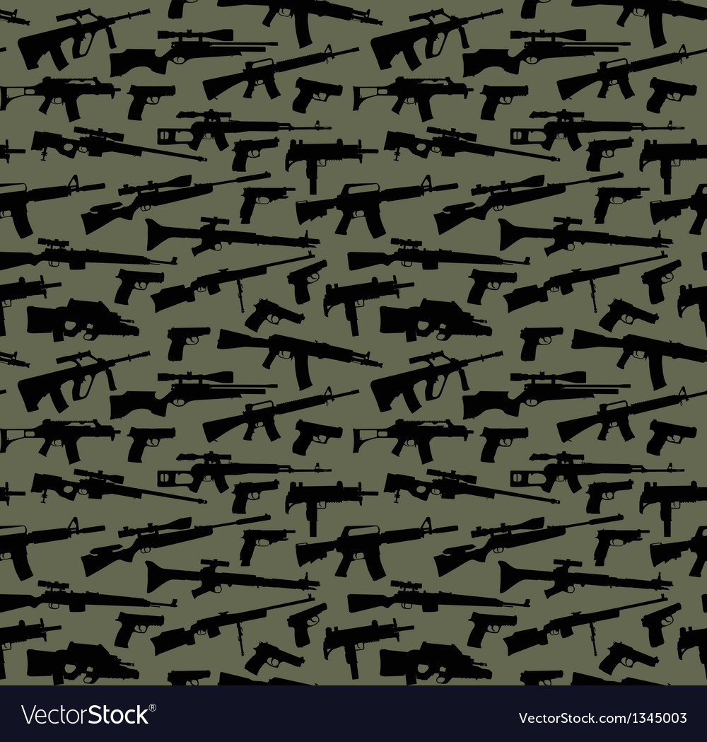 Weapon seamless background vector | Price: 1 Credit (USD $1)