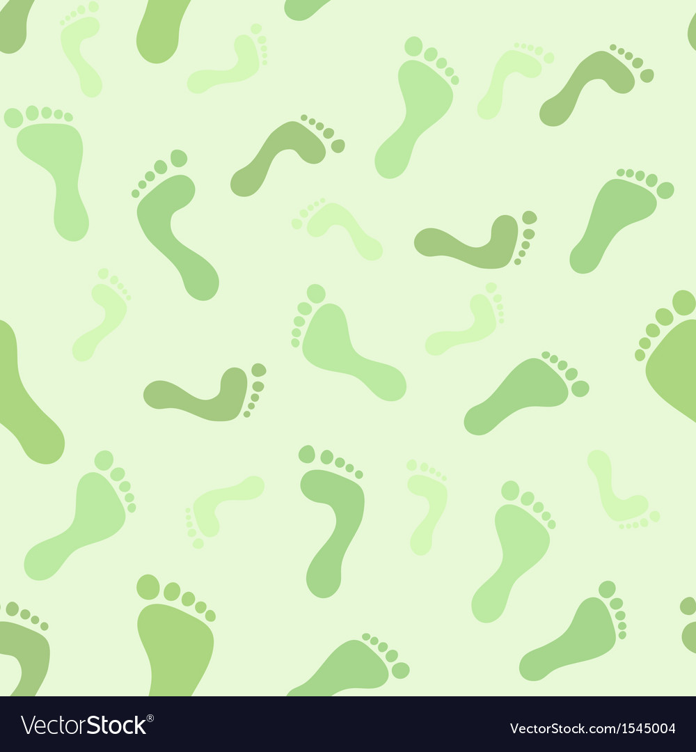 Feet seamless pattern vector | Price: 1 Credit (USD $1)